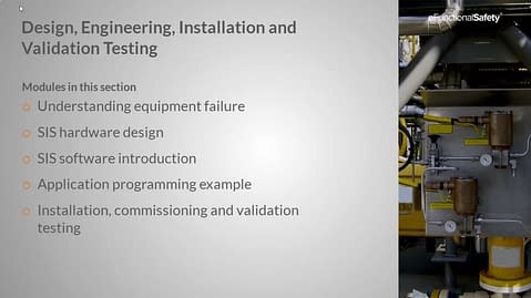 Safety Instrumented Systems FOUNDATION Section 6