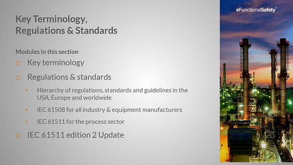 Safety Instrumented Systems FOUNDATION Section 2